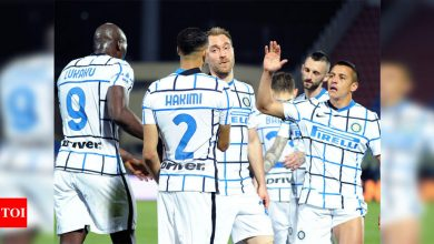 Inter Milan crowned champions of Italy for first time in 11 years | Football News - Times of India