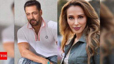 Iulia Vantur: Salman Khan is very inspiring and hardworking; he doesn't take a break or a holiday - Times of India