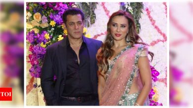 Iulia Vantur says being guided by a knowledgeable person like Salman Khan is a blessing - Times of India