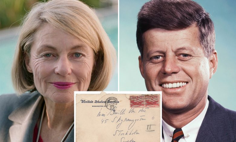 JFK's intimate letters to Swedish mistress up for auction