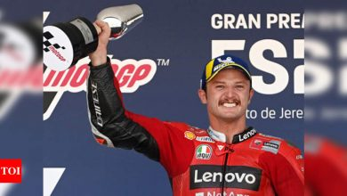Jack Miller cruises to Spanish MotoGP win in Ducati one-two | Racing News - Times of India