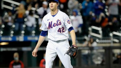 Jacob deGrom scratched from start with 'tightness' in sudden Mets concern