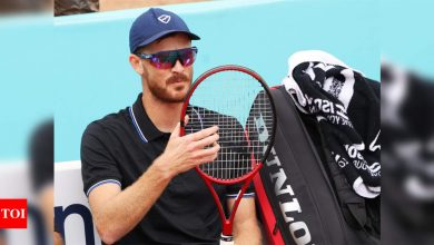 Jamie Murray blasts French Open over prize money cuts and 'toilet' hotel   Tennis News - Times of India
