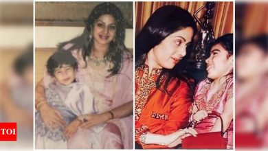 Janhvi Kapoor and Khushi Kapoor remember late mom Sridevi on Mother's Day with priceless throwback photos - Times of India