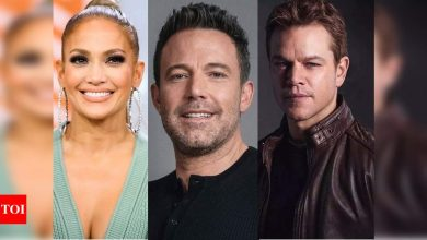 Jennifer Lopez spotted with Ben Affleck; 'Justice League' actor's buddy Matt Damon wishes they unite - Times of India