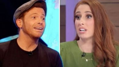 Joe Swash says Stacey Solomon 'awkwardly' mistook proposal for tribute to someone who died