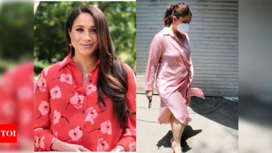 Kareena Kapoor Khan to Meghan Markle: Shirt dresses are a hit - Times of India