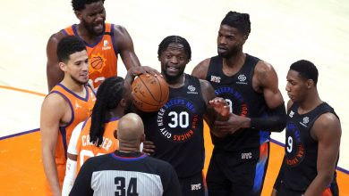 Knicks ripped by Suns in front of boisterous Phoenix crowd