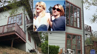 Kurt Cobain and Courtney Love's fixer-upper home is for sale
