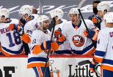 Kyle Palmieri's OT winner lifts Islanders over Penguins in Game 1