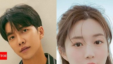 Lee Seung Gi fan protests against his relationship with Lee Da In - Times of India