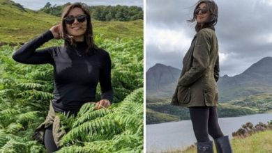Lucy Verasamy: ITV weather presenter flaunts her figure in staycation snaps