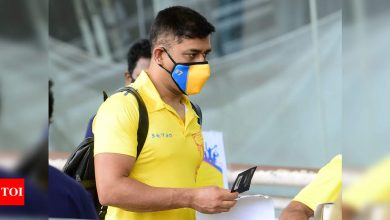 MS Dhoni to head home only after CSK teammates reach home: Report | Cricket News - Times of India