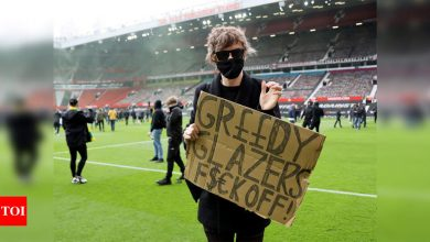 Manchester United-Liverpool game postponed after fan protests | Football News - Times of India
