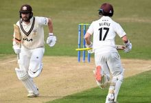 Mark Stoneman raises century as Surrey settle for draw at Leicestershire