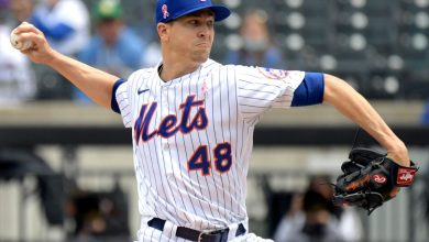 Mets' Jacob deGrom dominates in Single-A rehab start
