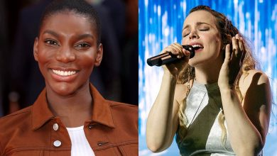 "Michaela Coel says she ""cried her eyes out"" at 'Eurovision' on Netflix"