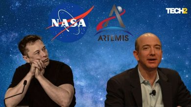 Jeff Bezos and Elon Musk have channelled some of their vast fortunes into private space exploration companies since early this century. Image credit: Tech2/Abigail Banerji
