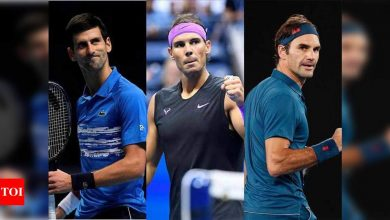 Nadal, Djokovic and Federer in same half of French Open draw | Tennis News - Times of India