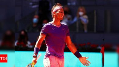 Nadal admits Zverev defeat 'step back' but positive as French Open nears   Tennis News - Times of India