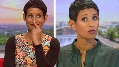 Naga Munchetty tells BBC co-star 'I would always blame you' after complaints admission