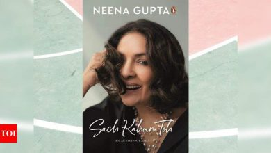 Neena Gupta's autobiography to release on June 14 - Times of India