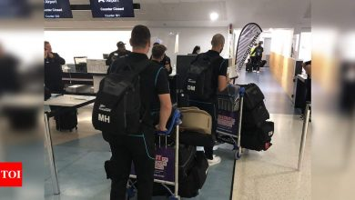 New Zealand players depart for UK for WTC final, England series | Cricket News - Times of India