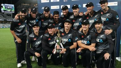 New Zealand replace England as the No.1 side in ICC ODI rankings