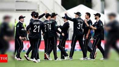 New Zealand replace England as top-ranked ODI team | Cricket News - Times of India