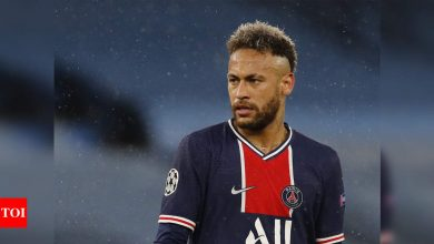 Neymar extends PSG contract until 2025: Club   Football News - Times of India
