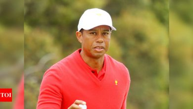 No. 1 goal right now is walking on my own: Tiger Woods   Golf News - Times of India