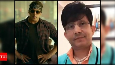 Not 'Radhe' review, THIS is the reason Salman Khan filed a defamation case against Kamaal R Khan - Times of India