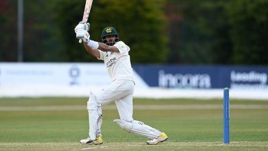 Nottinghamshire near end of three-year drought as Derbyshire are batted to the brink