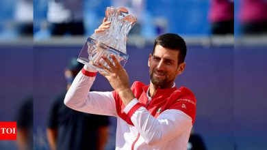 Novak Djokovic wins on home soil ahead of French Open | Tennis News - Times of India