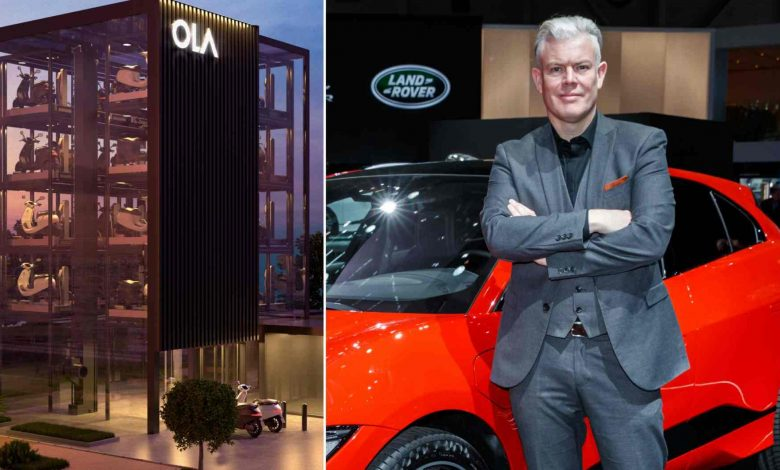Burgess will lead the design process for Ola Electric