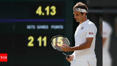 'On this train until Wimbledon,' says Roger Federer as the Swiss legend returns   Tennis News - Times of India
