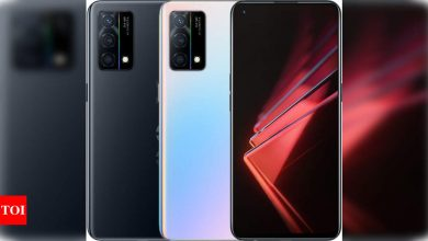 Oppo K9 5G with 65W fast charging support launched in China - Times of India