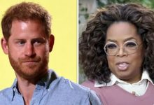 Oprah Winfrey blasts those who 'shame' mental health as she reunites with Prince Harry
