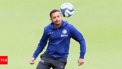Prithvi Shaw stopped for travelling without e-pass, gets it in an hour | Off the field News - Times of India