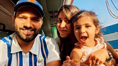 'Proud Girl Dad' Rohit Sharma Shares Adorable Picture With Daughter Samaira