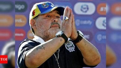 Questioning of medical team over Diego Maradona's death delayed   Off the field News - Times of India