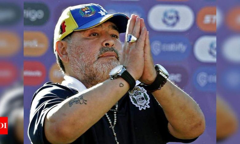 Questioning of medical team over Diego Maradona's death delayed | Off the field News - Times of India