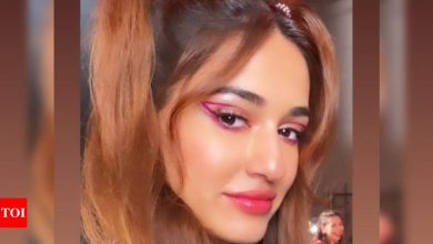 'Radhe': Disha Patani looks absolutely ravishing in this BTS video of the title track - Times of India