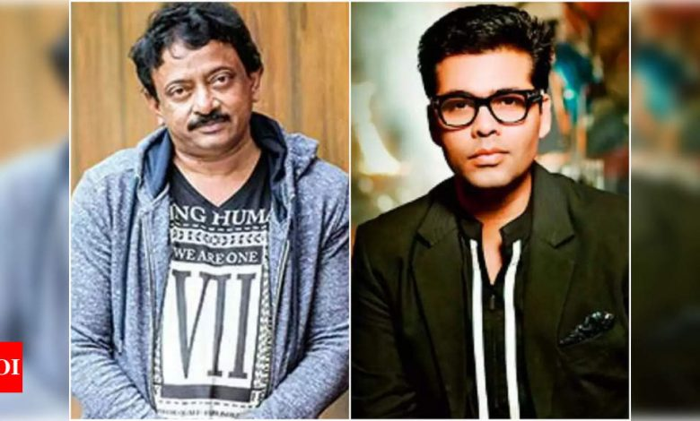 Ram Gopal Verma says he doesn't have a problem with Karan Johar - Times of India