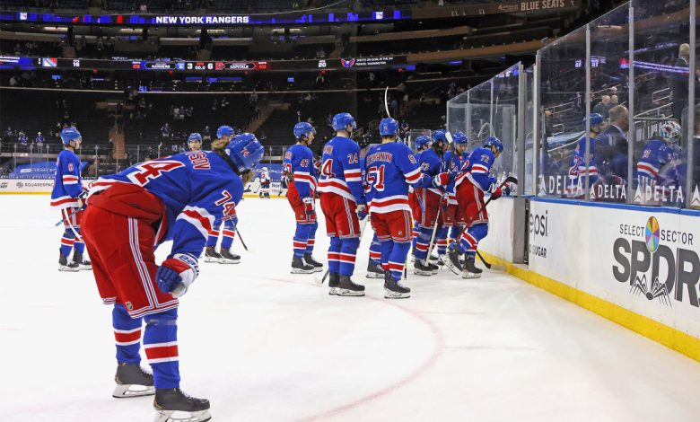 Rangers' playoff dream is officially over