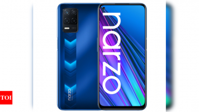 Realme Narzo 30 5G with 5000mAh battery launched in Europe - Times of India