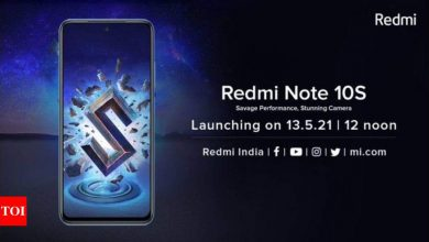 Redmi Note 10S and Redmi smartwatch to launch in India today at 12pm: How to watch live stream - Times of India