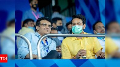 Remaining IPL games can't be played in India: BCCI chief Sourav Ganguly | Cricket News - Times of India
