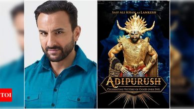 Saif Ali Khan spills the beans on his role as Raavan in 'Adipurush' - Times of India