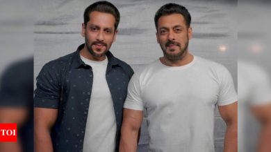 Salman Khan's body double Parvez Kazi shares a throwback from the sets of Radhe Your Most Wanted Bhai - Times of India